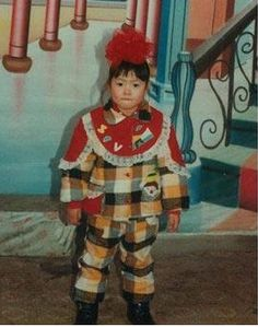 Liu Wen childhood photo one at Pinterest.co,uk