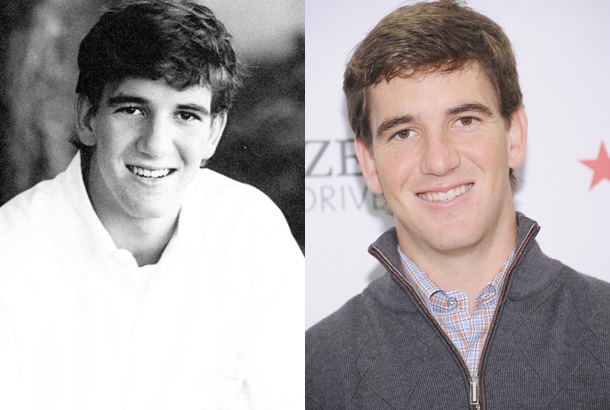 Eli Manning yearbook photo one at Snakkle.com at Snakkle.com