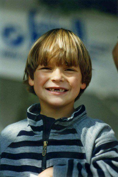 Roman Weidenfeller childhood photo one at Pinterest.com