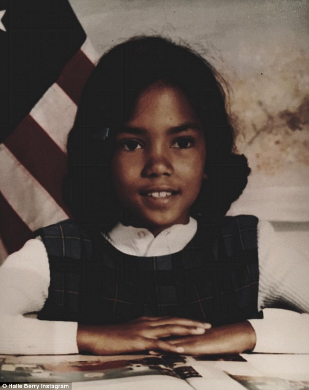 Halle Berry childhood photo three at Dailymail.co.uk