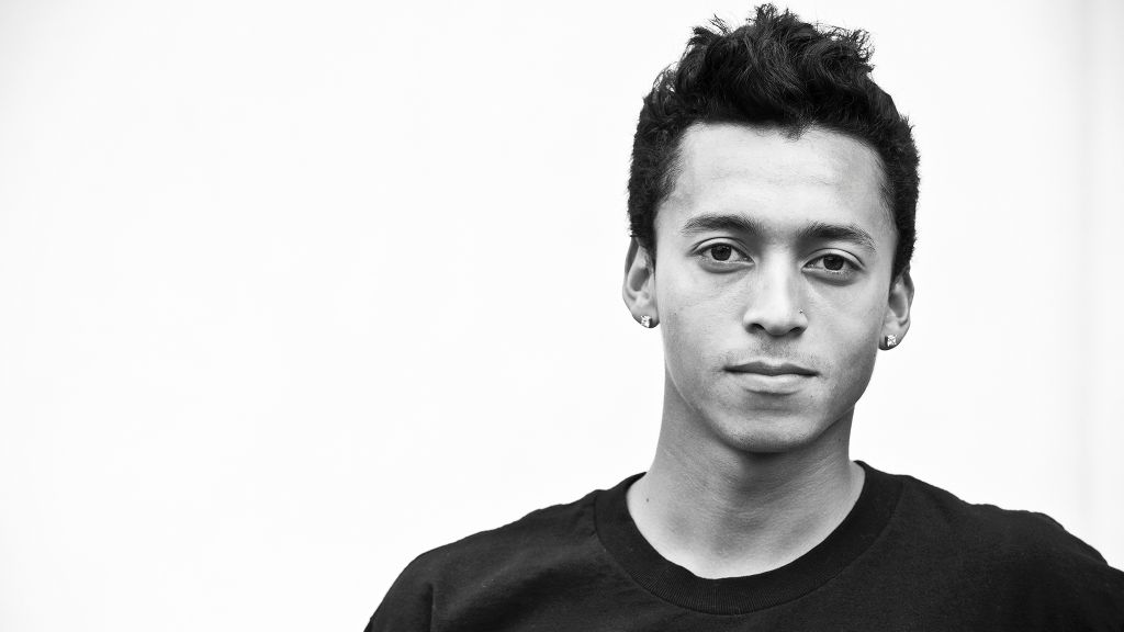 Nyjah Huston - the cool, cute,  athlete  with Afro-American roots in 2019