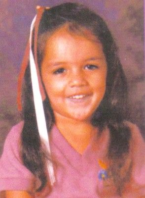 Michelle Rodriguez childhood photo one at pinterest.com