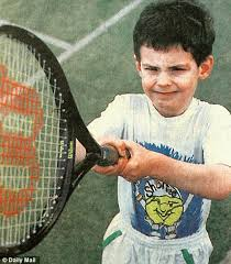 Andy Murray childhood photo one at dailymail.co.uk