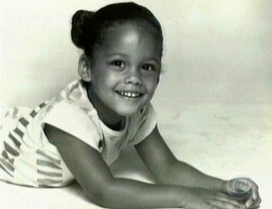 Alicia Keys childhood photo one at pinterest.com