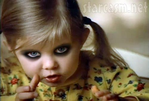 Taylor Momsen childhood photo two at pinterest.com