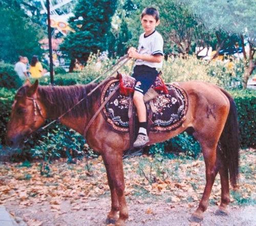 Alan Dzagoev childhood photo one at blogpost.com