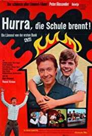 Jutta Speidel first movie:  Hurrah, the School Is Burning