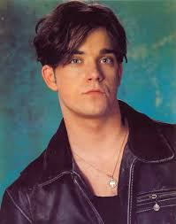 Robbie Williams younger photo one at pinterest.com