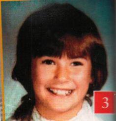 Demi Moore childhood photo one at pinterest.com
