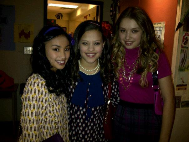 Sarah Jeffery first movie: Aliens in the House