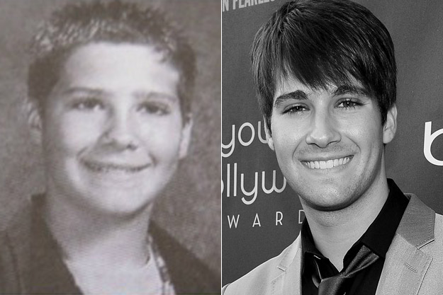 James Maslow yearbook photo two at Popcrush.com at Popcrush.com