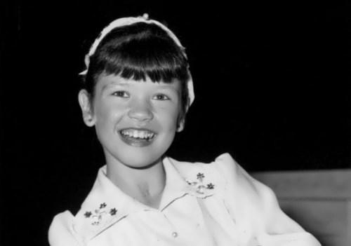 Catherine Zeta-Jones kindertijd foto een via Mirfaces.com