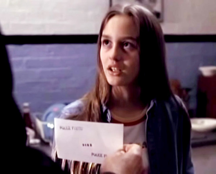 Leighton Meester first movie:  Law & Order