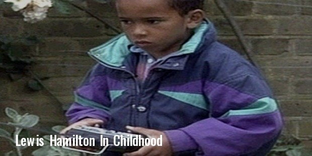 Lewis Hamilton childhood photo one at Successstory.com