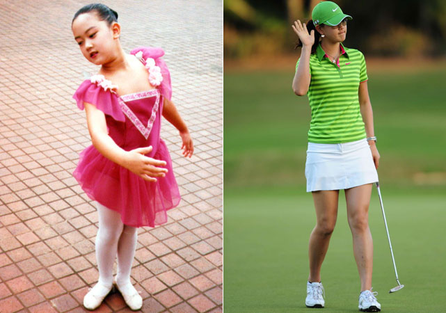 Michelle Wie childhood photo one at Si.com