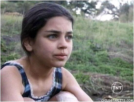Mila Kunis kindertijd foto twee via childstarlets.com
