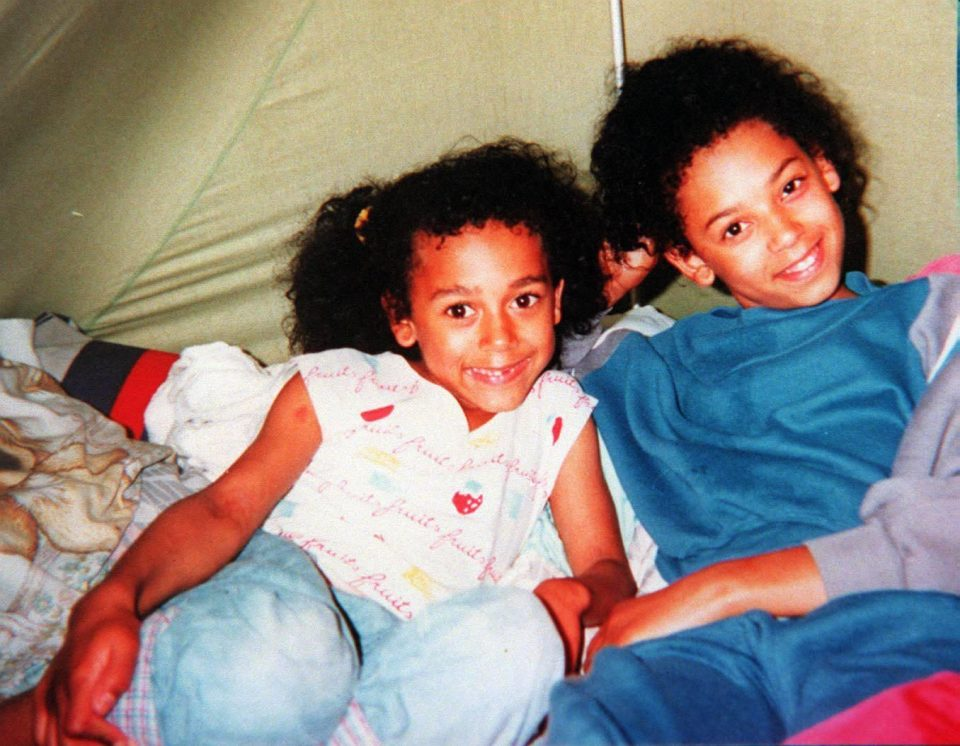 Melanie Brown childhood photo one at thesun.co.uk