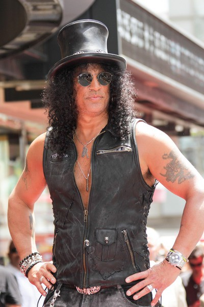 Slash - the cool, talented,  musician  with Afro-American, English,  roots in 2020