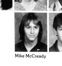 Mike Mccready kindertijd foto een via Ebay.com