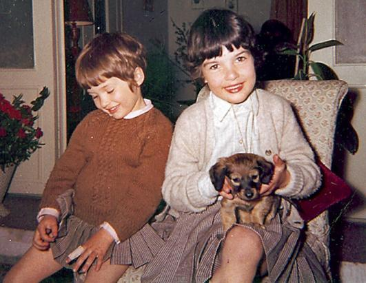 Christiane Amanpour childhood photo one at Huffingtonpost.com
