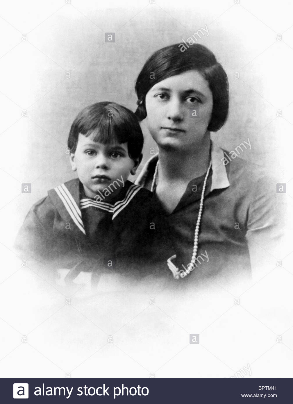 Tony Curtis childhood photo one at alamy.com
