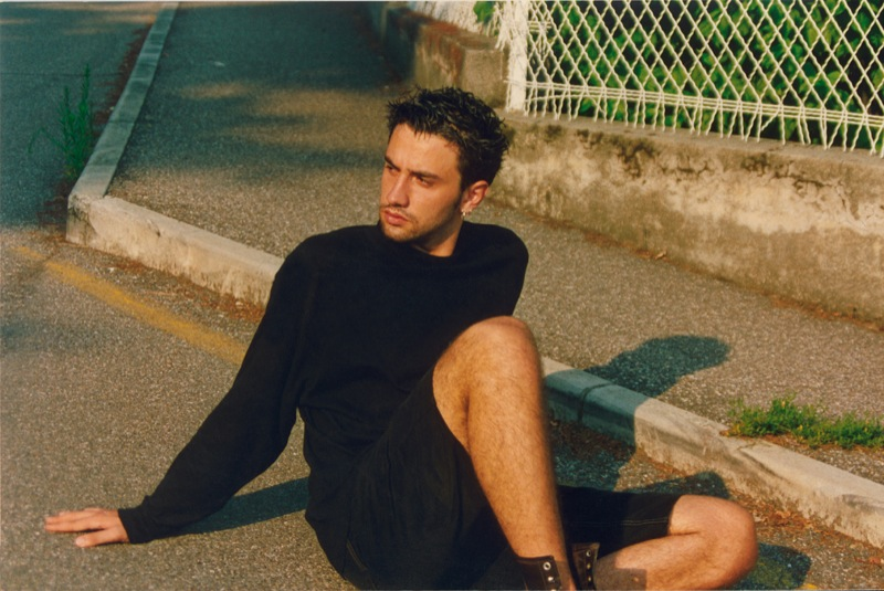 Riccardo Tisci younger photo one at Backstagetales.com
