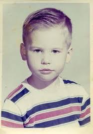 Val Kilmer, foto de infância um em Pinterest.com