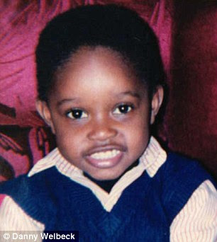 Danny Welbeck childhood photo one at Footballplayerschildhoodpics.blogspot.ro