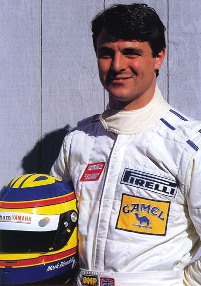 Mark Blundell younger photo one at f1since81.wordpress.com