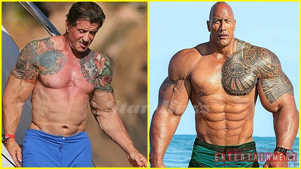 The Rock is Super Exited for Rambo V