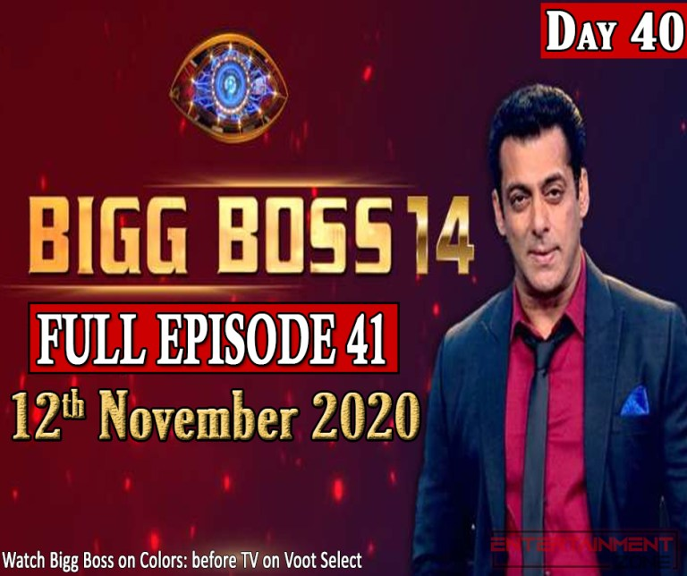 Bigg Boss 14 Episode 41
