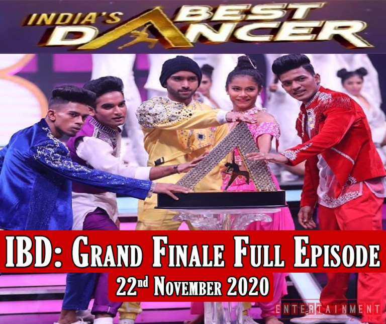 India Best Dancer Grand Finale