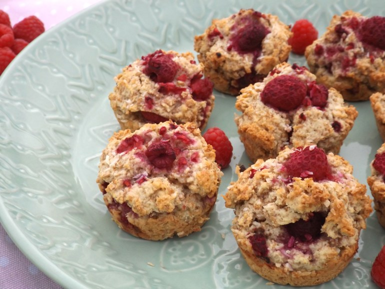 Raspberry Coconut Muffin