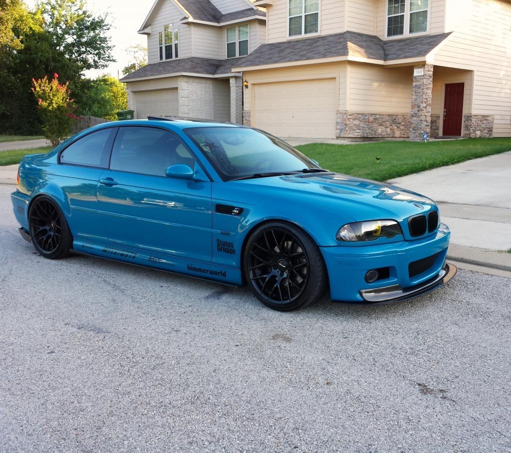 Perfect E46 M3 Laguna Seca Blue For Sale In