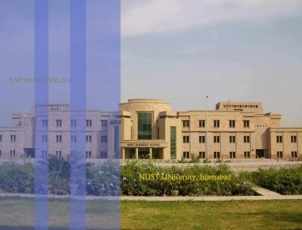 NUST University Islamabad Pakistan