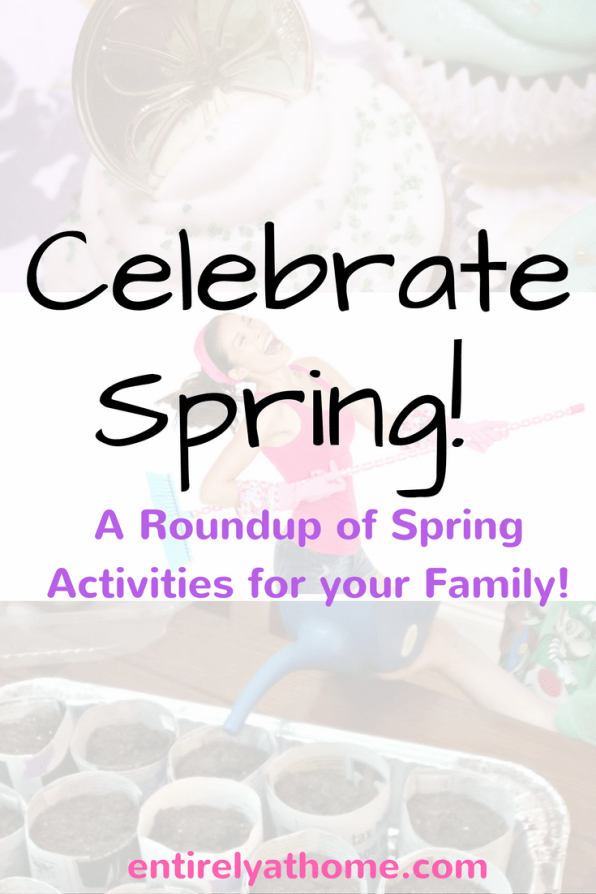 Check out these great Spring activities to enjoy with your family!