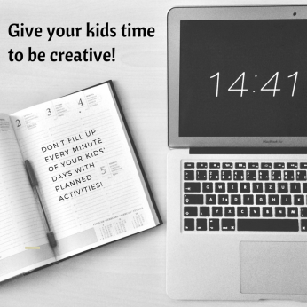 5 ways we can encourage our kids creativity!