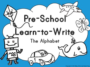 Teach your pre-schoolers to write the alphabet with this great letter writing set! Trace large letters. Practice pre-writing skills. Begin start writing letters on their own.
