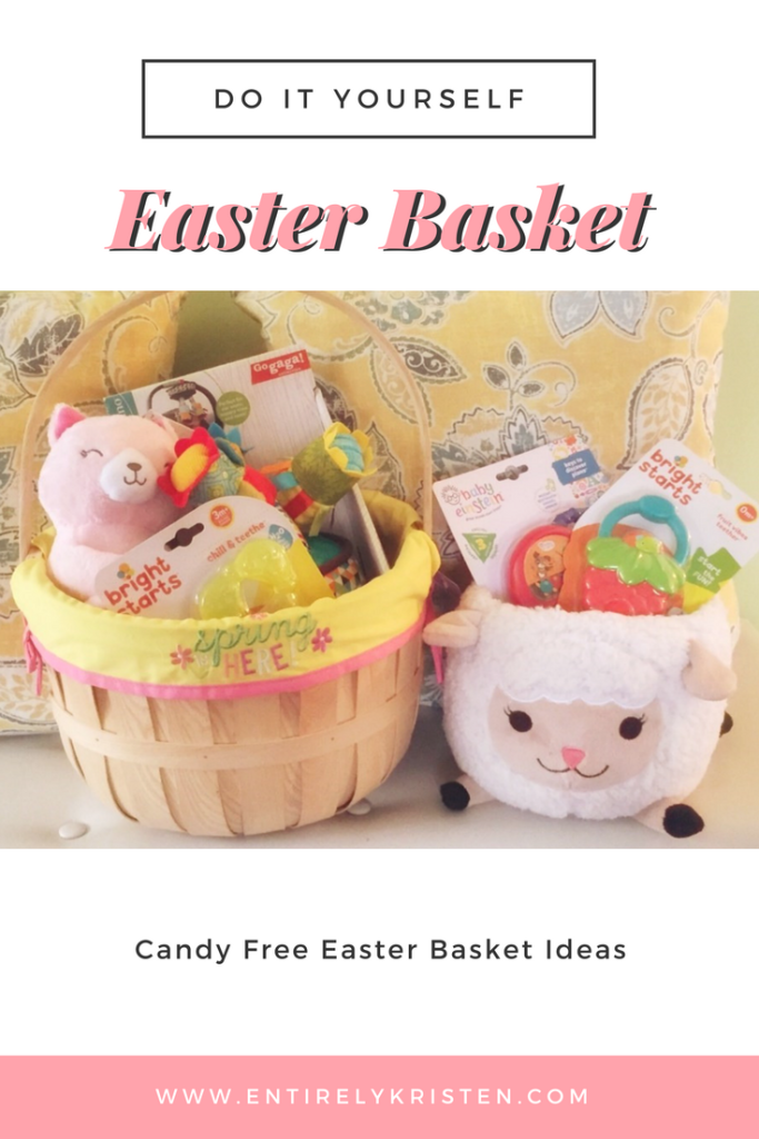 Diy easter basket ideas what i put in my daughters first easter diy easter basket ideas solutioingenieria Gallery
