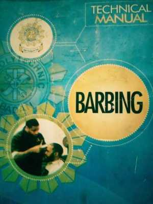 Barbing salon technical manual.