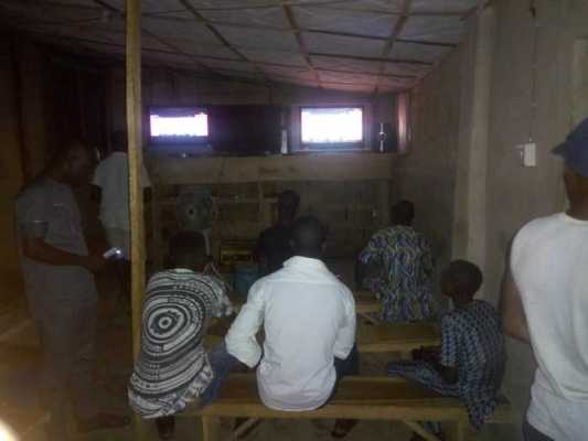 Start a football viewing center business in Nigeria