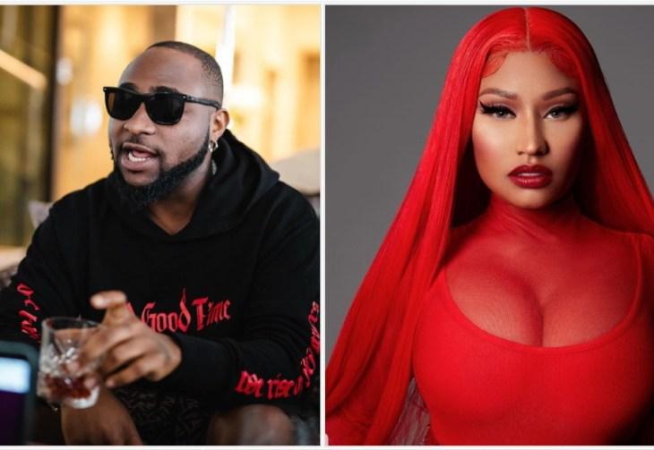 Davido features Nicki Minaj