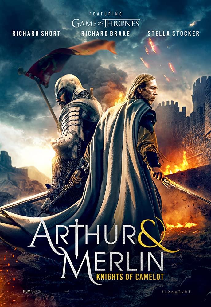 MOVIE : Arthur & Merlin - Knights of Camelot (2020)