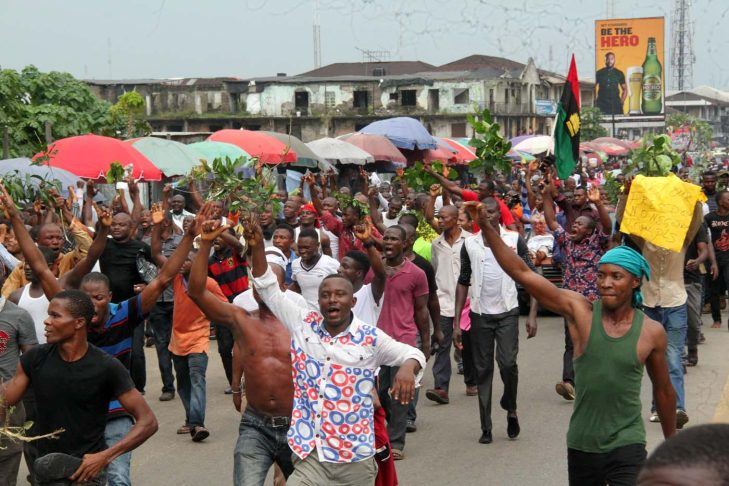 At least three dead as IPOB clash with Security Operatives 4