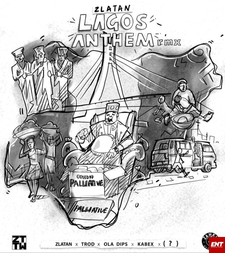 INSTRUMENTAL : Zlatan Ibile - Lagos Anthem
