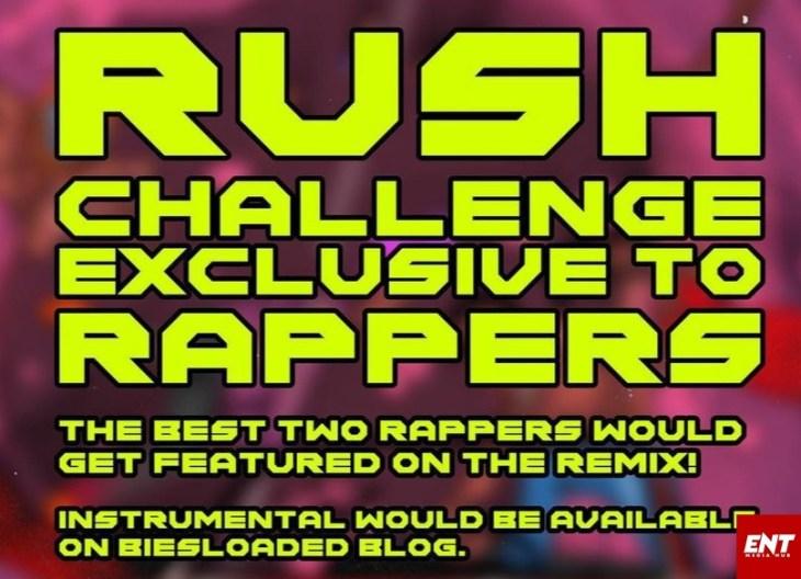#RushRappersChallenge Bella Shmurda