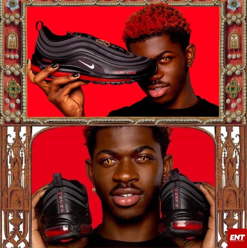 Lil Nas X satan shoe