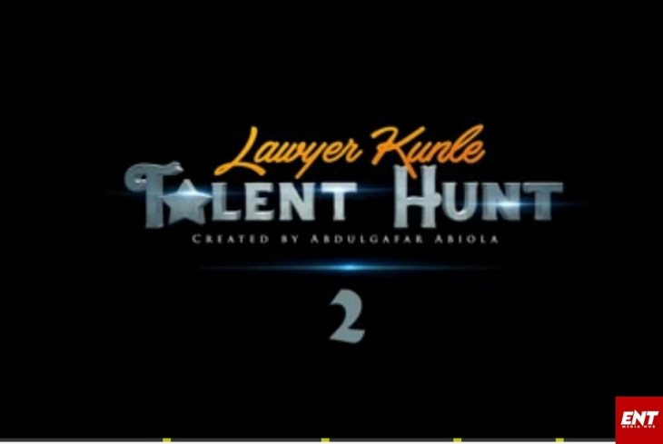 Lawyer Kunle Talent Hunt 2