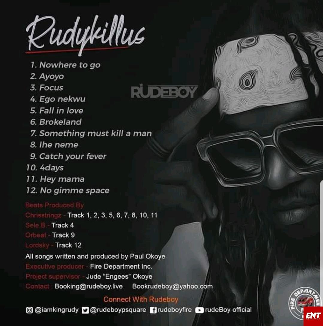 FULL ALBUM : Rudeboy - Rudykillus