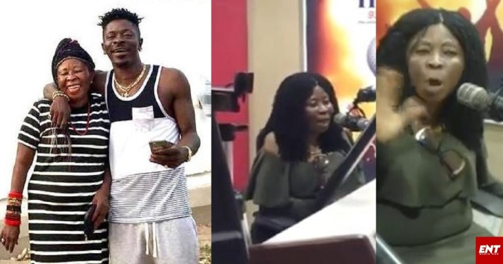 Shatta Wale's mother